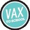 Vax To School Logo